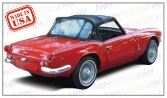 Convertible Tops & Accessories:1967 thru 1969 Triumph Spitfire Mark III Roadster