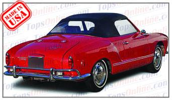 Convertible Tops & Accessories:1967 thru 1969 Volkswagen Karmann Ghia