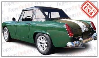 Convertible Tops & Accessories:1967 thru 1970 Austin Healey Sprite MK IV (Mark 4)