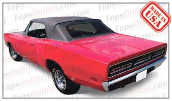Rubber Weatherstrips (Weather Seals):1967 thru 1970 Dodge Coronet 440, 500 & R-T (B Body) Convertible