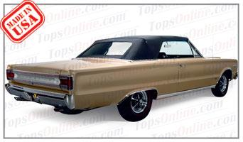 Convertible Tops & Accessories:1967 thru 1970 Plymouth Belvedere, GTX, Roadrunner & Satellite (B Body)