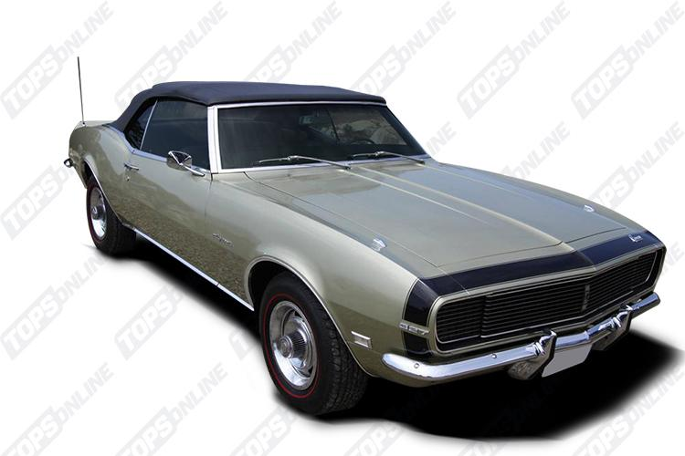 Door Panels (Factory and Aftermarket Styles):1968 Chevy Camaro Convertible Only