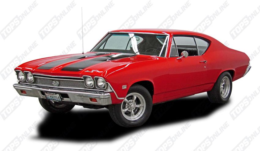 Door Panels (Factory and Aftermarket Styles):1968 Chevy Chevelle Coupe Only