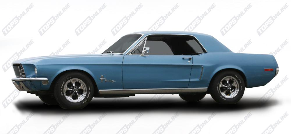 Center Consoles:1968 Ford Mustang Coupe, Convertible, 2+2 Fastback