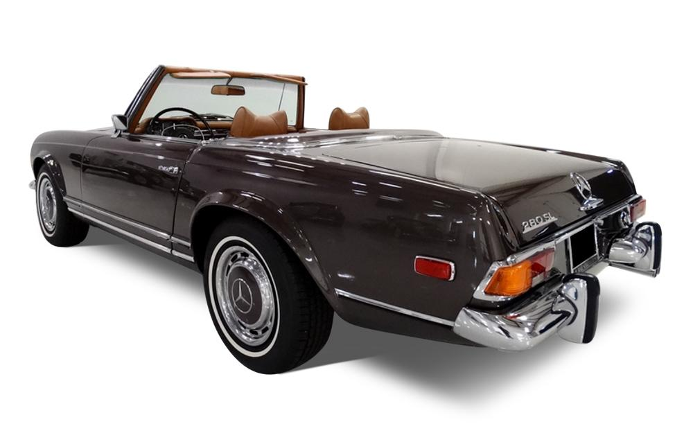 Seat Covers (Factory Style):1968 thru 1971 Mercedes 280SL Pagoda (W113 Chassis)