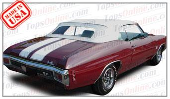 Convertible Tops & Accessories:1968 thru 1972 Chevy Chevelle, Malibu & Super Sport (SS)