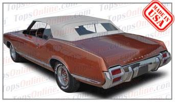 Convertible Tops & Accessories:1968 thru 1972 Oldsmobile 442, Cutlass S & Cutlass Supreme