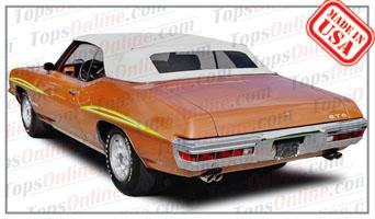Convertible Tops & Accessories:1968 thru 1972 Pontiac GTO, Lemans, Tempest & Beaumont