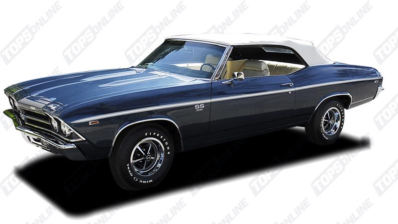 Door Panels (Factory and Aftermarket Styles):1969 Chevy Chevelle Convertible Only