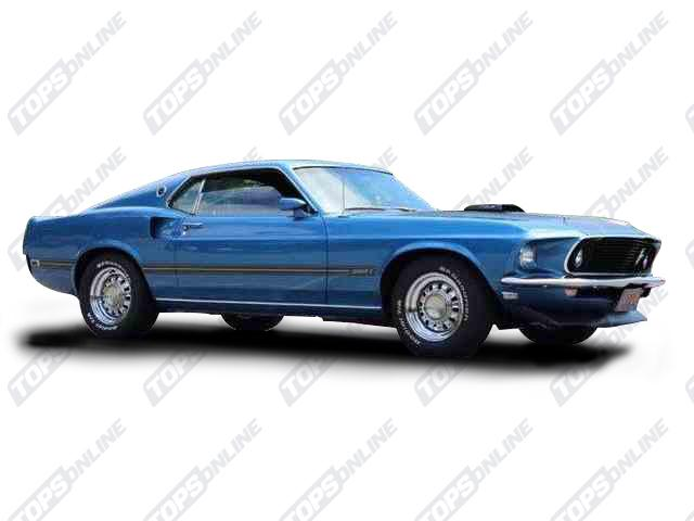 Center Consoles:1969 Ford Mustang Coupe, Convertible, 2+2 Fastback