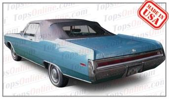 Convertible Tops & Accessories:1969 and 1970 Chrysler 300 & Newport