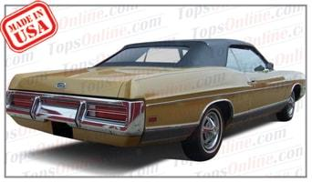 Convertible Tops & Accessories:1969 thru 1972 Ford Galaxie 500, Galaxie 500 XL & LTD