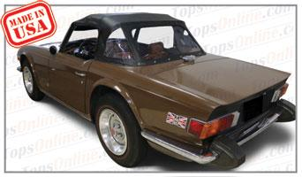Convertible Tops & Accessories:1969 thru 1976 Triumph TR6 Roadster