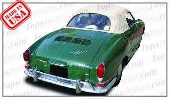 Convertible Tops & Accessories:1969 thru 1976 Volkswagen Karmann Ghia