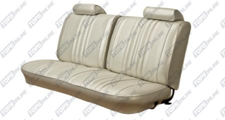 Seat Covers (Factory Style):1970 Chevy Chevelle Convertible Only