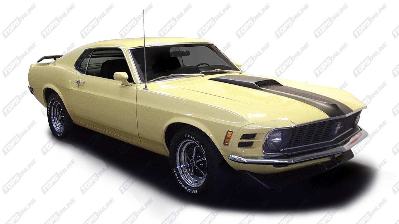 Center Consoles:1970 Ford Mustang Coupe, Convertible, 2+2 Fastback