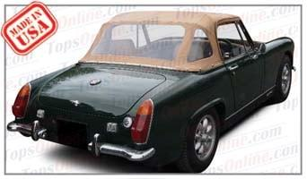 Convertible Tops & Accessories:1970 and 1971 Austin Healey Sprite MK IV (Mark 4)