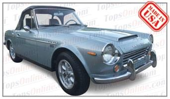 Convertible Tops & Accessories:1970 and 1971 Datsun Sports 1600 SPL311 & Sports 2000 SRL311 Fairlady