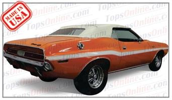 Convertible Tops & Accessories:1970 and 1971 Dodge Challenger & Challenger R/T
