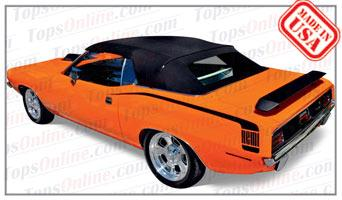 Convertible Tops & Accessories:1970 and 1971 Plymouth Barracuda