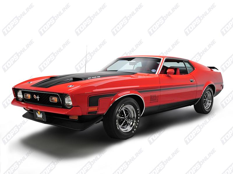 Seat Covers (Factory Style):1971 Ford Mustang Mach 1 (Convertible, Coupe, and Sportsroof)