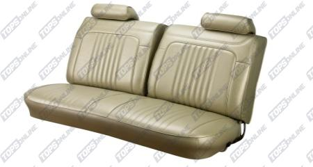Seat Covers (Factory Style):1971 and 1972 Chevy Chevelle Coupe Only