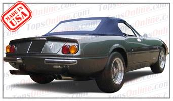 Convertible Tops & Accessories:1971 thru 1974 Ferrari 365 GTB-4 Daytona Spider