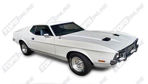 Seat Covers (Factory Style):1972 and 1973 Ford Mustang (Convertible, Coupe, and Sportsroof) Deluxe Upholstery