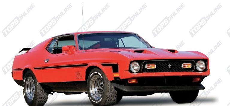 Seat Covers (Factory Style):1972 and 1973 Ford Mustang Mach 1 (Convertible, Coupe, and Sportsroof)