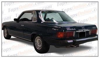 Seat Covers (Factory Style):1972 thru 1979 Mercedes 450SLC, 350SLC & 280SLC 2 Door Coupe (C107 Chassis)