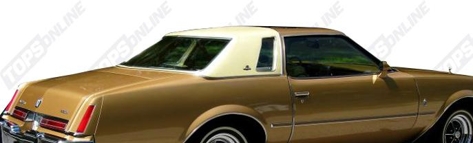Landau Vinyl Tops:Buick Regal - 1974 thru 1987