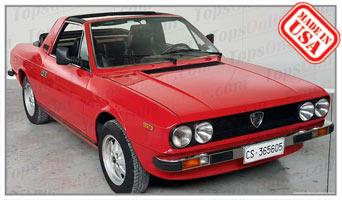 Convertible Tops & Accessories:1975 thru 1982 Lancia Beta Spyder Zagato