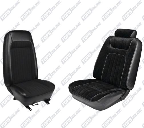 Seat Covers (Factory Style):1979 and 1980 Ford Mustang (Coupe and Hatchback)
