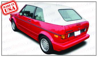 Convertible Top Installation Videos:1979 thru 1994 Volkswagen Cabriolet, Rabbit & Golf 1