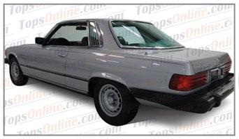 Seat Covers (Factory Style):1980 thru 1982 Mercedes 450SLC, 380SLC, 280SLC & 500SLC 2 Door Coupe (C107 Chassis)