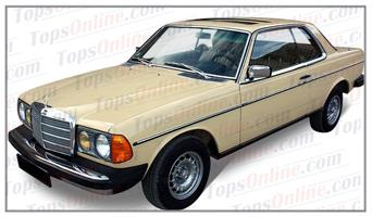 Seat Covers (Factory Style):1980 thru 1985 Mercedes 230C, 230CE, 280C, 280CE & 300CD 2 Door Coupe (C123 Chassis)