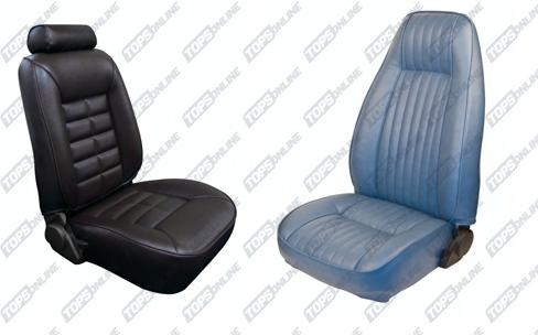 Seat Covers (Factory Style):1981 Ford Mustang Base Model and Cobra (Coupe and Hatchback)