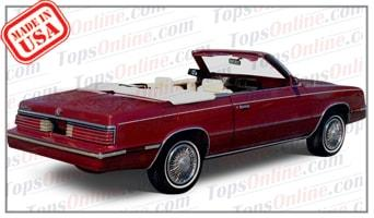 Chrysler Convertible Tops Accessories