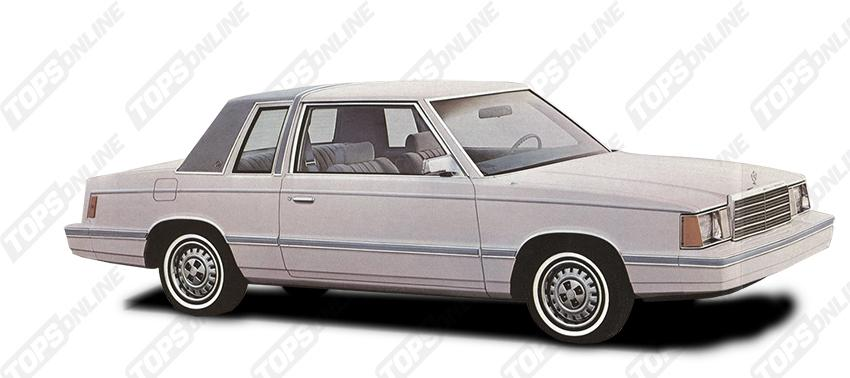 Landau Vinyl Tops:Chrysler Reliant K - 1983 thru 1985