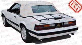 Convertible Top Installation Videos:1983 thru 1993 Ford Mustang (GLX, GT, LX)