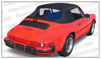 Convertible Tops & Accessories:1983 thru 1994 Porsche 911, 912, 930, 964, Carrera, Carrera 2, Carrera 4 & Turbo