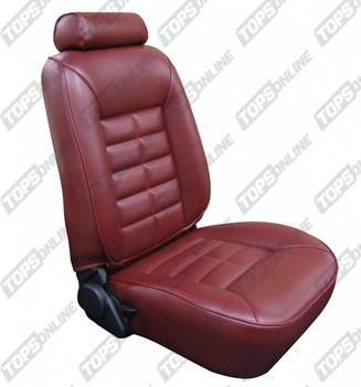 Seat Covers (Factory Style):1985 and 1986 Ford Mustang GT and LX (Convertible, Coupe and Hatchback)