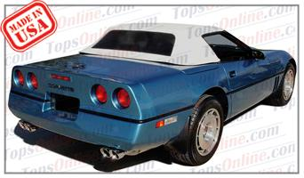 Convertible Tops & Accessories:1986 thru 1993 Chevrolet Corvette (C4)