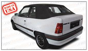 Convertible Tops & Accessories:1986 thru 1993 Opel Kadett E, Astra & Monza Convertible