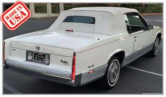 Convertible Tops & Accessories:1989 Cadillac Coupe Deville (Car Craft or H & E Conversion)