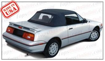 Convertible Tops & Accessories:1989 thru 1994 Mercury Capri & XR2