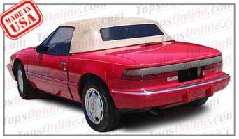 Convertible Tops & Accessories:1990 and 1991 Buick Reatta (ASC Conversion)