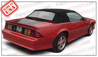 Convertible Tops & Accessories:1990 thru 1993 Chevrolet Camaro, IROC, RS & Z28 (Third Gen)