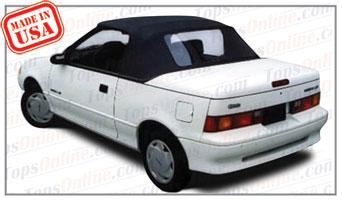Convertible Tops & Accessories:1990 thru 1995 Chevy Metro & Sprint