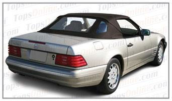 Rubber Weatherstrips (Weather Seals):1990 thru 2002 Mercedes 300SL, 500SL, 600SL, SL320, SL500 & SL600 (R129) Convertible
